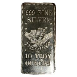 10 troy ounces silvertacka