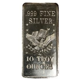 10 troy ounces silvertacka