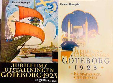 Utställningen 1923 båda böckerna
